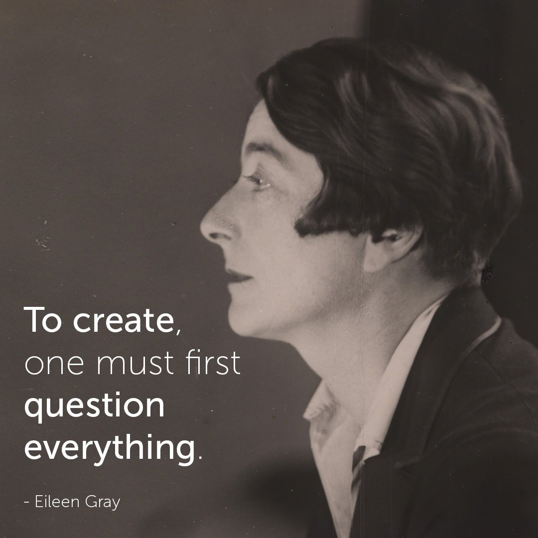 Famous Architect Quotes - Eileen Gray