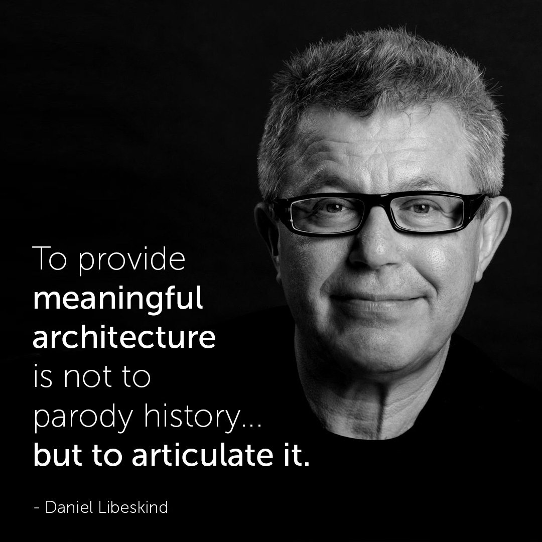Famous Architect Quotes - Daniel Libeskind