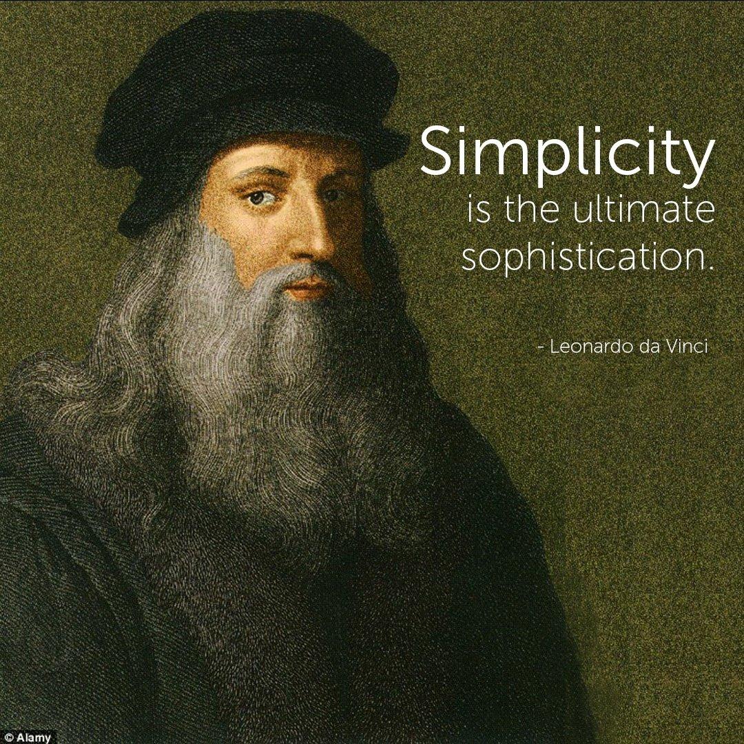Famous Architect Quotes - Leonardo da Vinci