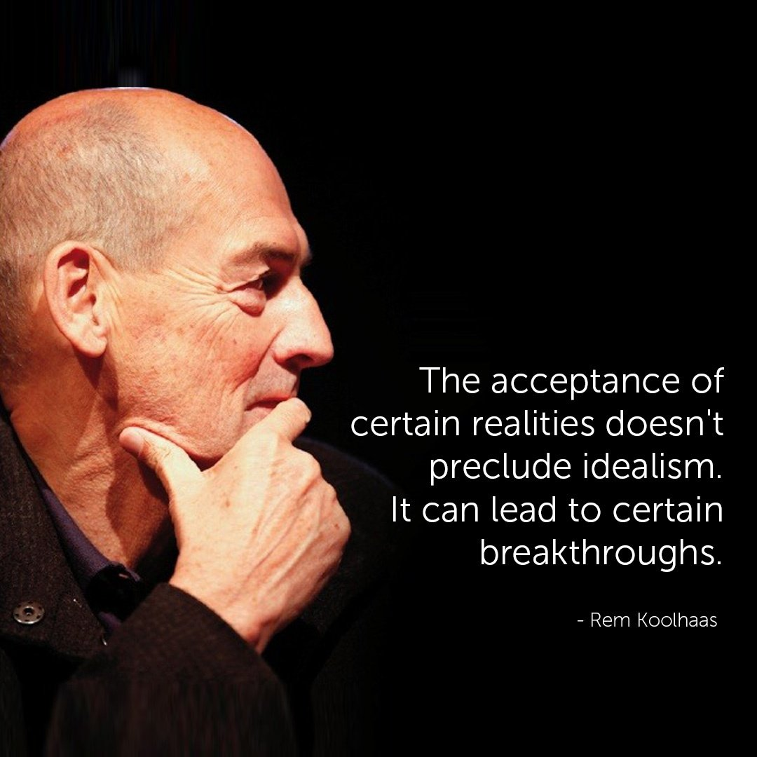 Famous Architect Quotes - Rem Koolhaas