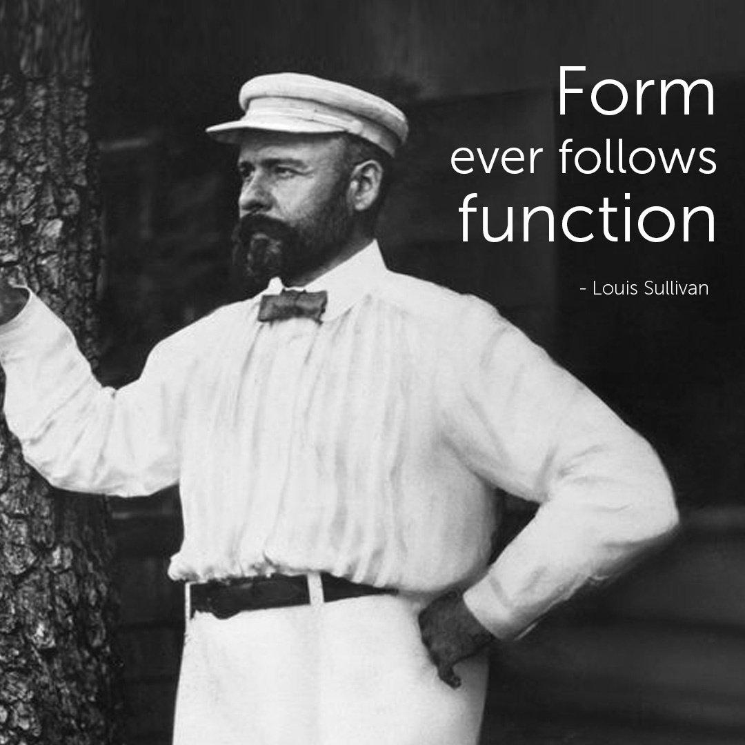 Famous Architect Quotes - Louis Sullivan