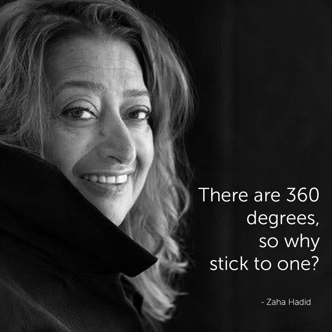 Famous Architect Quotes - Zaha Hadid