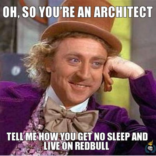 Architect Memes - Red Bull